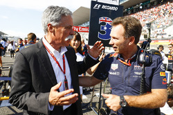 Chase Carey, CEO, Formula One, Christian Horner, Takım Patronu, Red Bull Racing