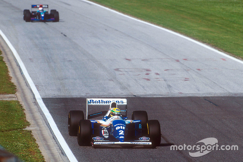 Ayrton Senna, Williams FW16, Roland Ratzenberger, Simtek S941