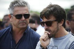 Gil de Ferran, Fernando Alonso en la parrilla