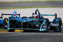 Митч Эванс, Jaguar Racing, и Себастьен Буэми, Renault e.Dams