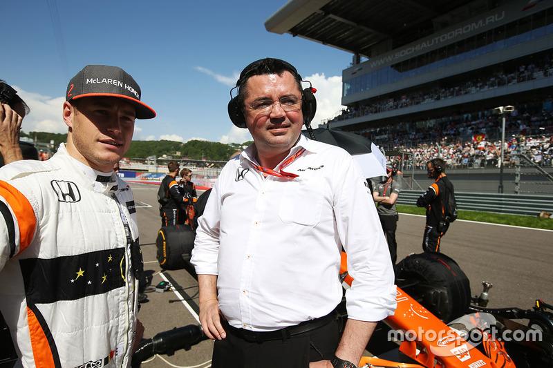 Eric Boullier, jefe de competición de McLaren