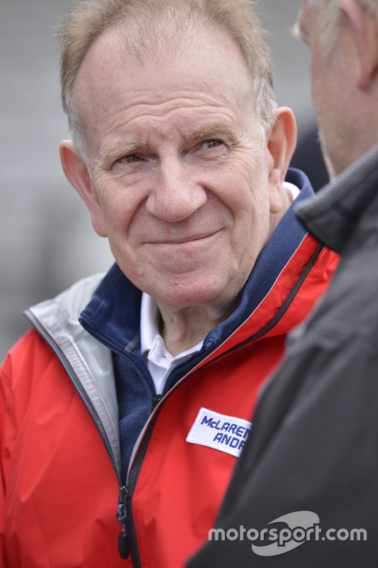 Neil Oatley, Design and Development Director for McLaren
