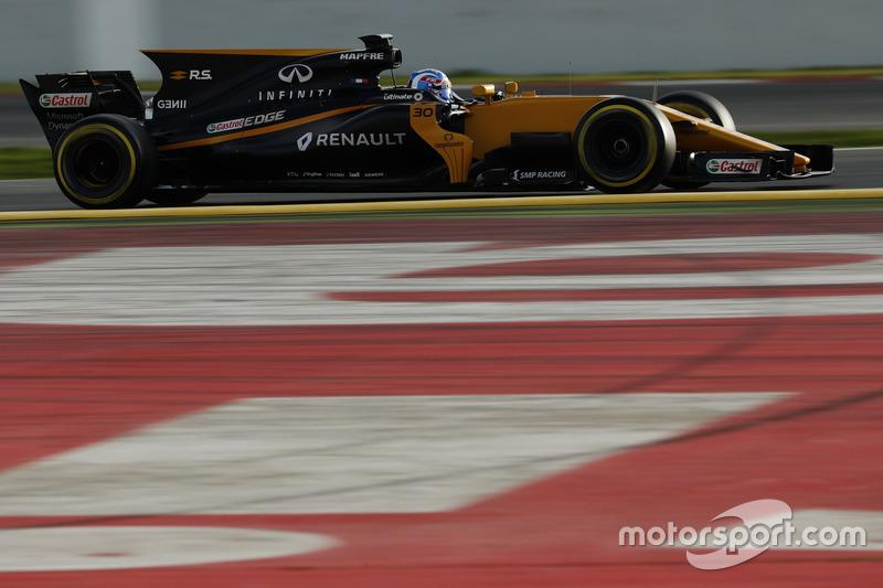 Jolyon Palmer, Renault F1 Team RS17