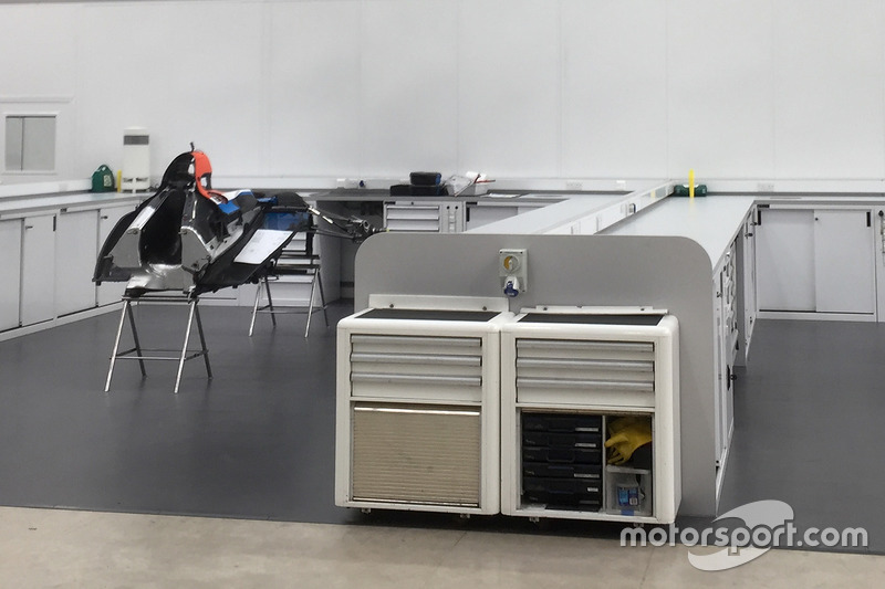 2017 Manor Racing chassis