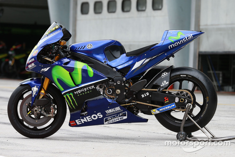 Bike Of Valentino Rossi Yamaha Factory Racing At Sepang January