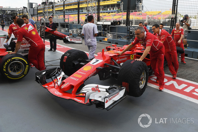 Ferrari mechanics, Ferrari SF70H