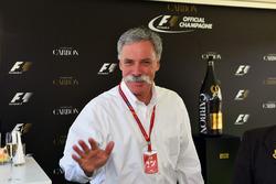 Chase Carey, Director Ejecutivo y Presidente Ejecutivo de la Formula One Group