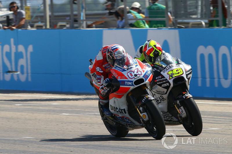 Andrea Dovizioso, Ducati Team, Alvaro Bautista, Aspar Racing Team