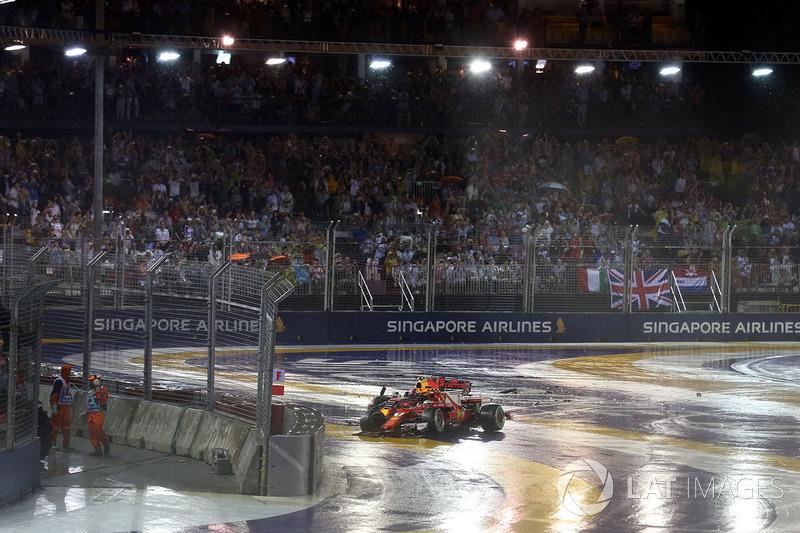 Макс Ферстаппен, Red Bull Racing RB13, Кімі Райкконен, Ferrari SF70H
