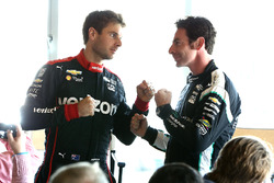 Titelkandidaten Simon Pagenaud, Team Penske Chevrolet, Will Power, Team Penske Chevrolet