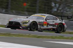 #111 Rn-sports, Mercedes SLS AMG GT3: Masayuki Ueda, Kazuya Tsuruta