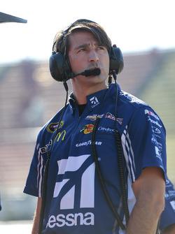 Matt McCall, crew chief of Jamie McMurray, Chip Ganassi Racing Chevrolet