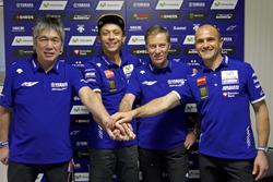 Valentino Rossi, Movistar Yamaha MotoGP, verlängert seinen Vertrag um 2 Jahre