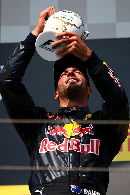 Podium: 3. Daniel Ricciardo, Red Bull Racing
