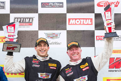 Winner Michael Cooper, Cadillac Racing, second place Johnny O'Connell, Cadillac Racing