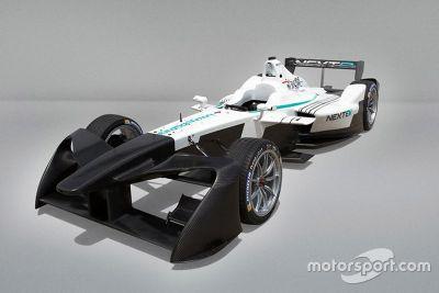 Formula E 2017 diseño alerón delantero