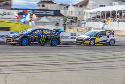 Андреас Баккеруд, Hoonigan Racing Division и Тимур Тимерзянов, World RX Team Austria