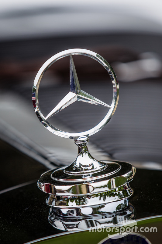 Classic Grand Tour Mercedes Benz Logo At 24 Hours Of Le Mans