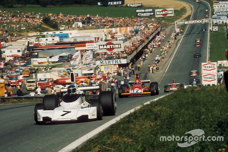 Carlos Reutemann, Brabham BT44 Ford, Niki Lauda, Ferrari 312B3