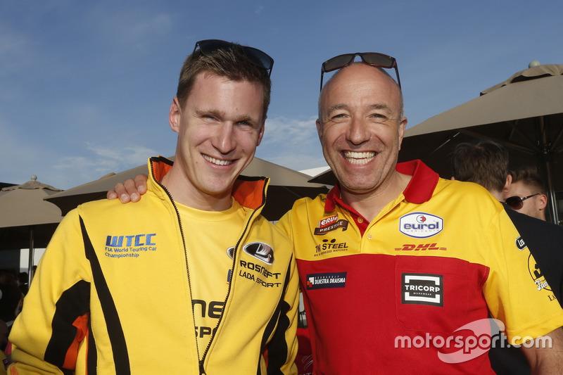 Nicky Catsburg, LADA Sport Rosneft und Tom Coronel, Roal Motorsport