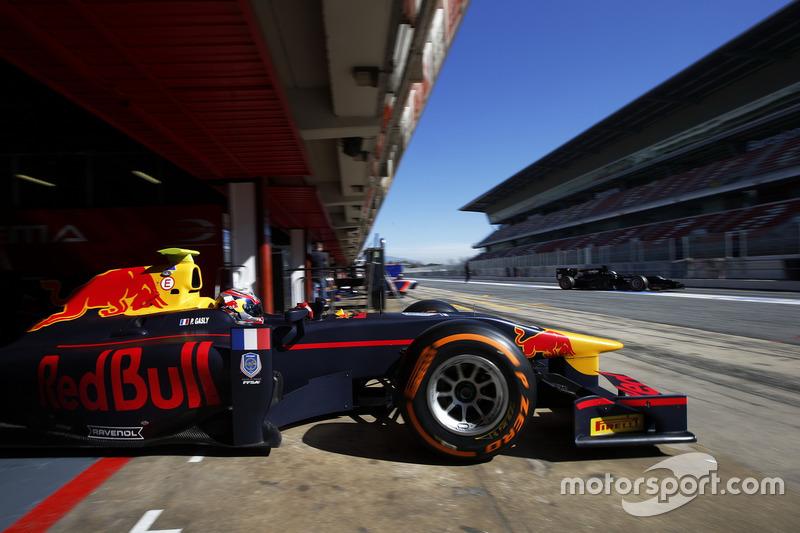 Pierre Gasly, Prema Powerteam e Meindert van Buuren, Status Grand Prix