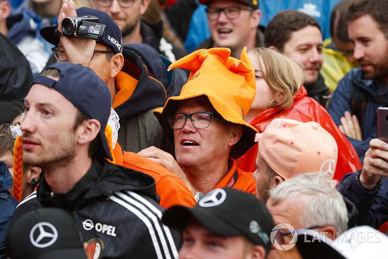 Un fan holandés