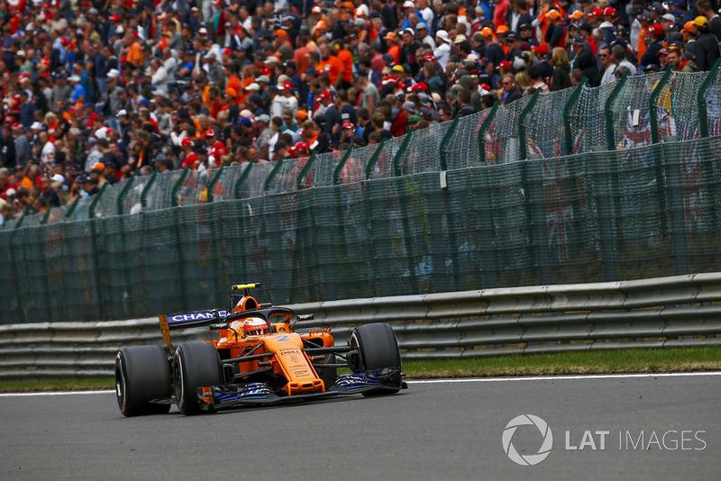 18 місце — Стоффель Вандорн (Бельгія, McLaren) — коефіцієнт 3001,00