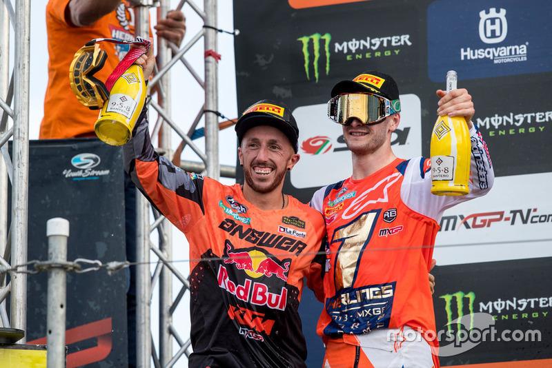 Jeffrey Herlings, Red Bull KTM Factory Racing y Tony Cairoli, Red Bull KTM Factory Racing