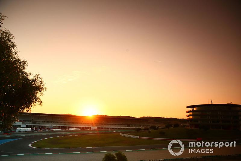 Panoramica del circuito di Algarve