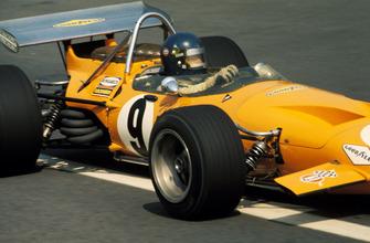 Питер Гетин, McLaren M14A
