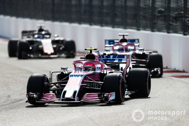 9e : Esteban Ocon (Racing Point Force India)