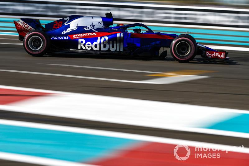 13 місце — Брендон Хартлі, Toro Rosso. Умовний бал — 7,54