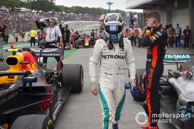 Валттері Боттас, Mercedes AMG F1 та Макс Ферстаппен, Red Bull Racing