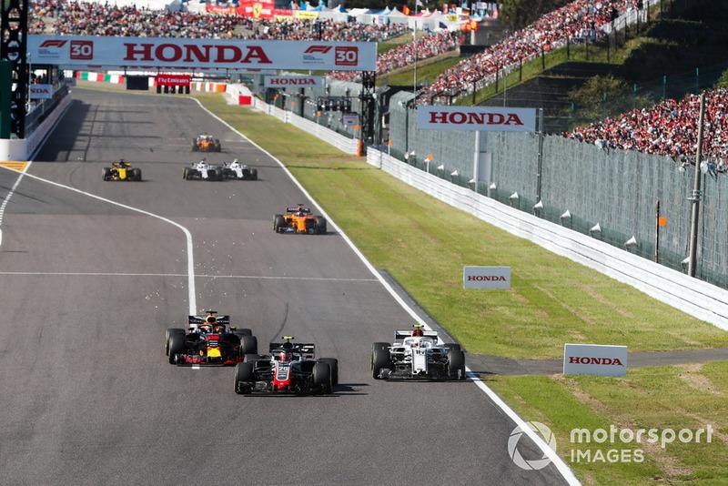 Japón - Kevin Magnussen/Charles Leclerc (carrera)