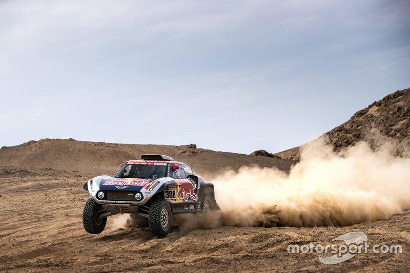 #308 X-Raid Mini JCW Team: Міріль Депре, Жан-Поль Коттре
