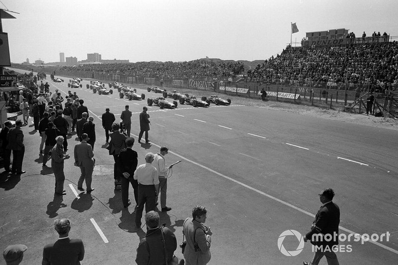 Jack Brabham, Brabham BT19 Repco, Denny Hulme, Brabham BT20 Repco, Jim Clark, Lotus 33 Climax