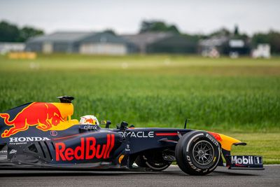 Red Bull Racing día de filmación GB