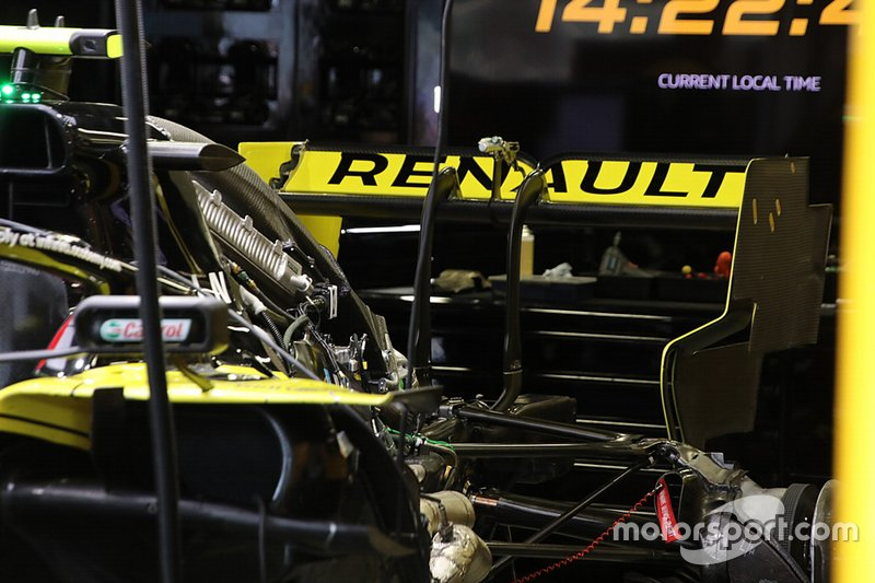 Renault F1 Team technical detail