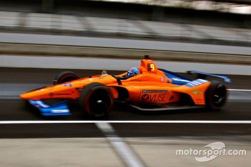 Essais avant l'Indy 500