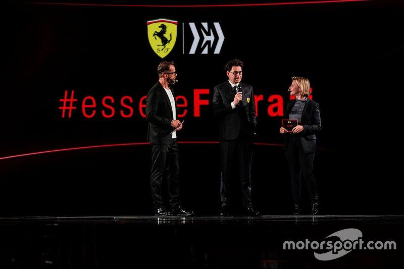 Mattia Binotto, team prinicpal Ferrari