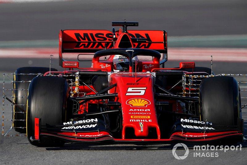 Ferrari SF90 con sensores