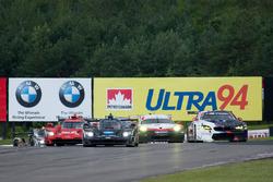 #10 Wayne Taylor Racing Cadillac DPi: Ricky Taylor, Jordan Taylor, #25 BMW Team RLL BMW M6 GTLM: Bill Auberlen, Alexander Sims