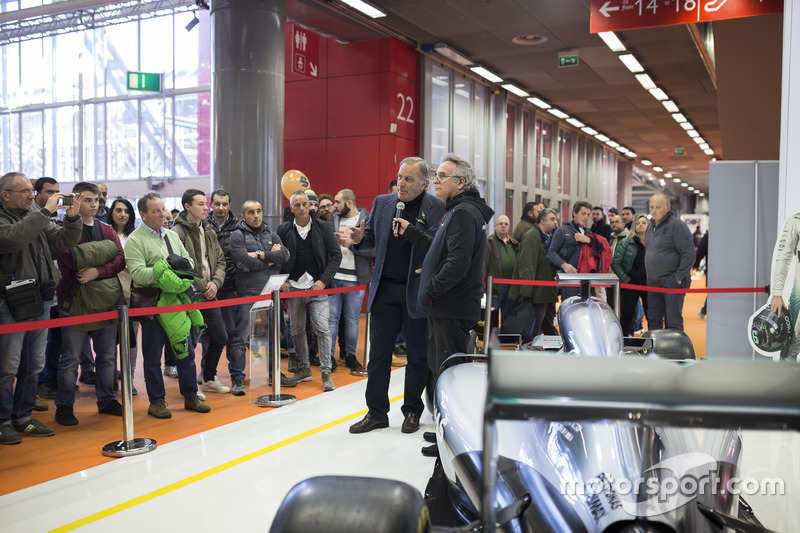 Giorgio Piola, analista técnico de F1 con Franco Nugnes, Motorsport.com