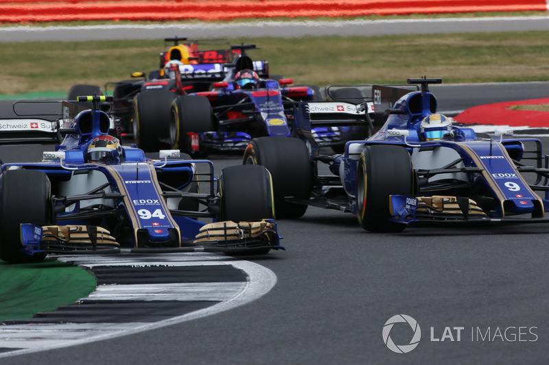 Маркус Эрикссон недоволен действиями партнера по Sauber Паскаля Верляйна