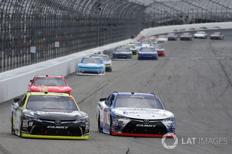 Matt Tifft, Joe Gibbs Racing Toyota Ryan Preece, Joe Gibbs Racing Toyota