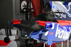 Chassis and aero detail of Carlos Sainz Jr., Scuderia Toro Rosso STR12