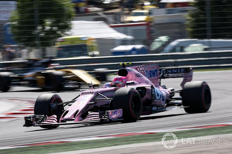 9. Эстебан Окон, Force India