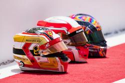 Helme der Fahrer