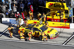 Pit stop, Landon Cassill, Front Row Motorsports Ford