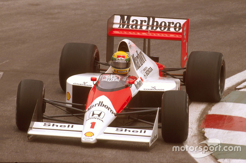 Ayrton Senna, McLaren-Honda MP4/5
